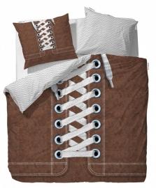 Covers & Co Dekbedovertrek Sneakers (brown) 200x200/220