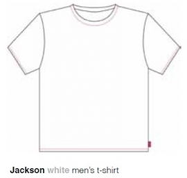 Marieke at Home Heren Shirt Jackson (white)