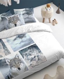 Damai Dekbedovertrek Wolves (grey) 240x200/220