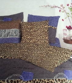 Bedpakket Panter (multi) 140x200/220