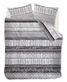 Riviera Maison Dekbedovertrek Tricot Chaud (grey) 200x200/220