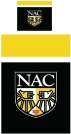 NAC Breda Dekbedovertrek (zwart/geel) 140x200