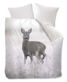 Beddinghouse Dekbedovertrek Snow Deer (grey) 200x200/220