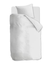 VT Wonen Jersey Dekbedovertrek Comfy (white) 140x200/220