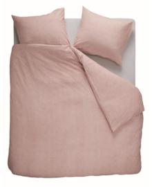 Beddinghouse Flanellen Dekbedovertrek Frost (soft pink) 140x200/220