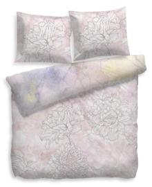 Heckett & Lane Dekbedovertrek Lucy (roze) 140x200/220