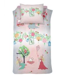 Cinderella Dekbedovertrek Dreamland (pink) 140x200