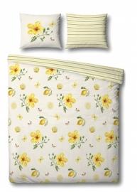 Janneke Brinkman Dekbedovertrek Yellow Garden (white/yellow) 140x200/220