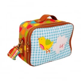 Lief! Love Letter Suitcase Bag (blue)