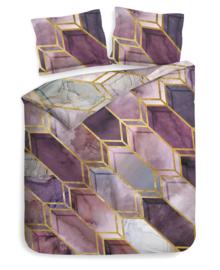 Heckett & Lane Dekbedovertrek Demi (quartz purple) 140x200/220
