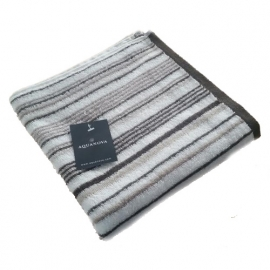 Aquanova Baddoek Stripes (brown) 50x100