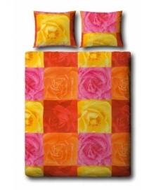 Covers & Co Dekbedovertrek Colourful Roses (multi) 240x200/220