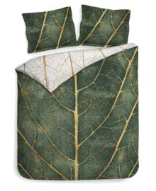 Heckett & Lane Dekbedovertrek Miro (shiny green) 260x200/220