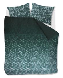 Kardol Dekbedovertrek Little Lozenge (green) 200x200/220