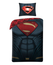 Superman Dekbedovertrek Suit (multi) 140x200
