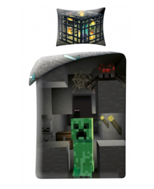 Minecraft Dekbedovertrek Build (multi) 140x200