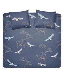Damai Dekbedovertrek Crane (indigo) 200x200/220