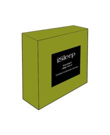 iSleep Hoeslaken Dubbel Jersey (groen)