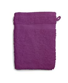 Twentse Damast Washandje Uni (violet)