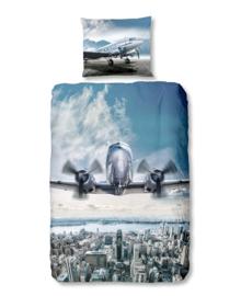 Good Morning Dekbedovertrek Airplane (multi) 140x200/220