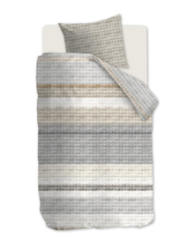 Ariadne at Home Dekbedovertrek Quilted Squares (natural) 140x200/220
