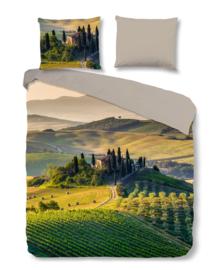 Good Morning Dekbedovertrek Tuscan (green) 140x200/220