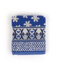 Bunzlau Castle Keukendoek Nautique (royal blue)