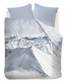 Riviera Maison Dekbedovertrek Moritz Mountain (bluegrey) 200x200/220