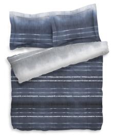 Heckett & Lane Dekbedovertrek Balfour (blauw/grijs) 260x200/220