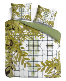 Suela Home Dekbedovertrek Chanine (green) 140x200/220