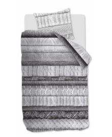 Riviera Maison Dekbedovertrek Tricot Chaud (grey) 140x200/220