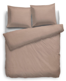 Heckett & Lane Dekbedovertrek Satin Stripe (misty rose) 200x200/220