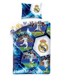 Real Madrid Dekbedovertrek Stars (multi) 140x200