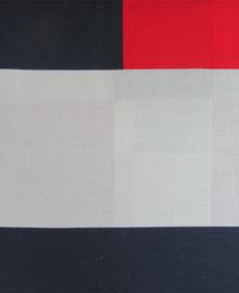 Beddinghouse Dekbedovertrek Nerdum (rood) 200x200/220