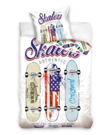 Skaters Dekbedovertrek Skateboard (multi) 140x200