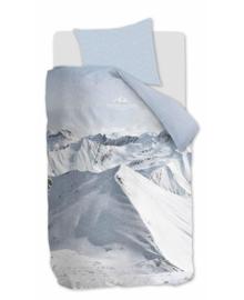 Riviera Maison Dekbedovertrek Moritz Mountain (bluegrey) 140x200/220
