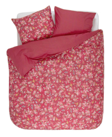 Pip Studio Dekbedovertrek Chinese Rose Bouquet (red) 240x200/220
