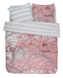 Covers & Co Dekbedovertrek Paris Citymap (multi) 200x200/220
