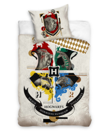 Harry Potter Dekbedovertrek Gryffindor (multi) 140x200