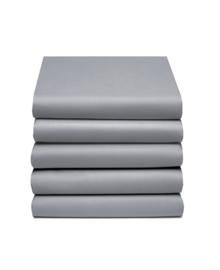 Damai Split-Topper Hoeslaken Bi-inkeping Dubbel Jersey (grijs)