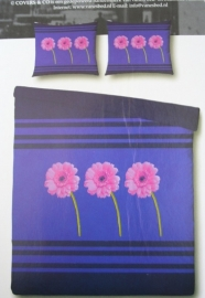 Covers & Co Dekbedovertrek Trio (purple) 240x200/220