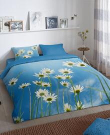 Good Morning Dekbedovertrek Sunny (blue) 200x200/220