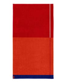 Seahorse Strandlaken Block (red)