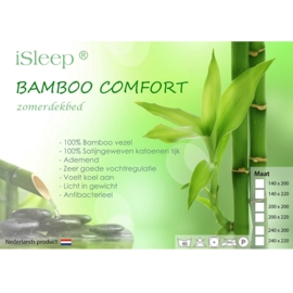 iSleep Zomerdekbed Bamboo