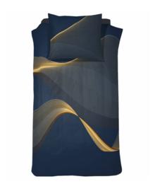 Damai Dekbedovertrek Curve (royal blue) 240x200/220