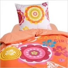 Damai Peuter Dekbedovertrek Beach Girls (orange) 120x150