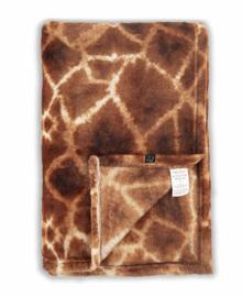 Zo! Home Plaid Giraffe (orange) 140x200
