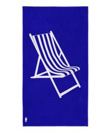 Seahorse Strandlaken Take a Seat (blue)