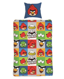 Angry Birds Dekbedovertrek Bad Mood (multi) 140x200