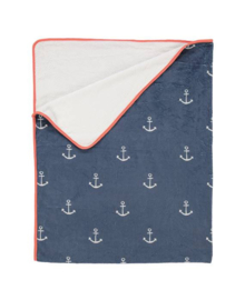 Covers & Co Plaid Anchor (blue)